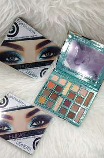 💯 Huda Beauty Lighers Eyeshadow Palette 💯