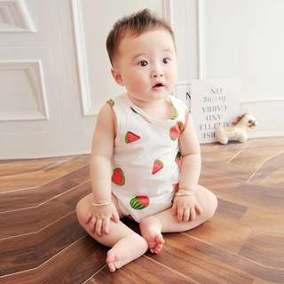 👶🏻(PO) Watermelon Romper for Baby Unisex