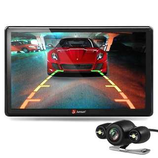 290. Junsun 7 inch Car GPS Navigation Bluetooth with Rear view Camera Vehicle Gps Navigator
