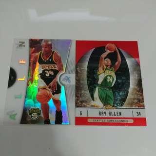 Ray Allen 珍藏球星卡 NBA 超音速