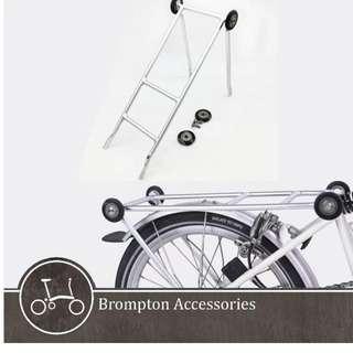 New Brompton Pannier Rack and Roller