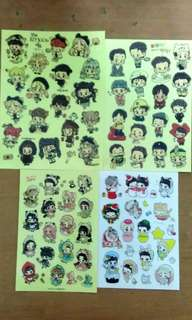 [WTS] Exo(MINI STICKER)EACH PIECES