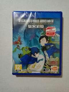 數碼寶貝物語 網路偵探 Digimon Story PSV Vita