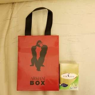 Armani 紙袋