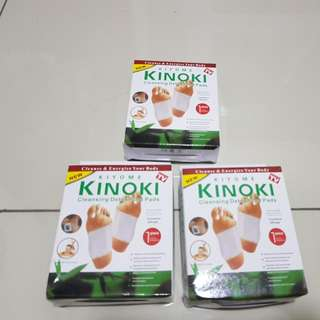 Kiyome Kinoki Cleansing Detox Foot Packs