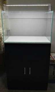 2ft fish tank set complete