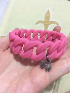 spyderbilt rubber bracelet