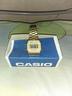 Casio vintage gold for sale