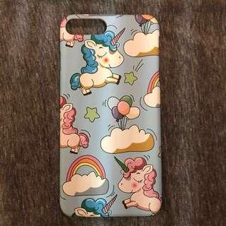 Iphone 7 Plus Blue Baby Unicorn Case