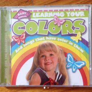 Learning Your Colors ( Children CD )