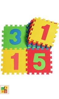 Preloved numbers foam mat