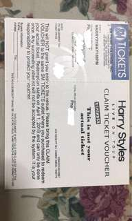 RUSH SALE: 2 Tickets Harry Styles UpperBox Seats. 8k for 2tickets