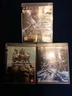 PS3 高達 / 機械人 games