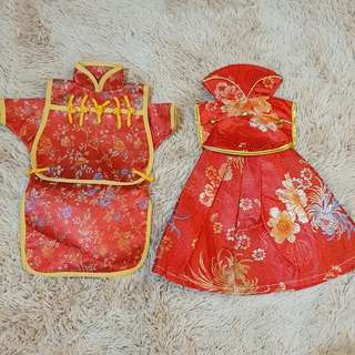 Baju Wine Couple untuk Sangjit or Chinese Wedding