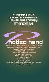 Photizo hand Massage