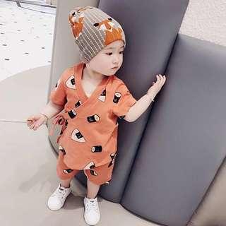 👶🏻(PO) PREMIUM Sushi 2pc Set for Baby Boy Toddler