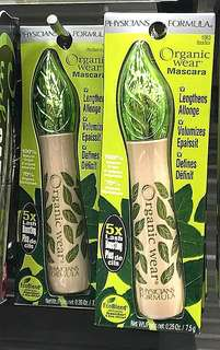 (Sold)PF Physicians Formula Organic Wear Mascara (Black)