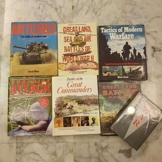 Books - War & Warfare