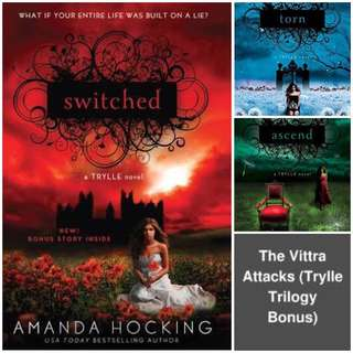 Trylle Trilogy by Amanda Hocking (EBOOK)