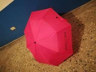 🚚 可愛的折疊小桃紅傘