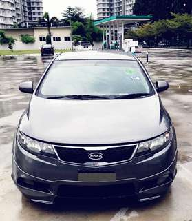 SAMBUNG BAYAR/CONTINUE LOAN  NAZA FORTE EX AUTO 1.6   YEAR 2012 MONTHLY RM 840 BALANCE 3 YEARS + ROADTAX AUG 2018 LOW MILEAGE   DP KLIK wasap.my/60133524312/forte