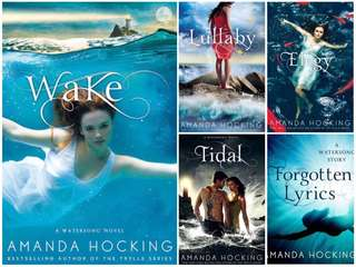 Watersong Series by Amanda Hocking (EBOOK)