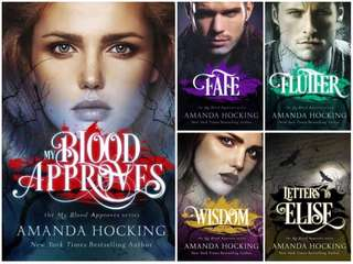 My Blood Approves Series by Amanda Hocking (EBOOK)