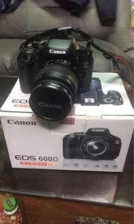 Canon 600D + kits 18-55