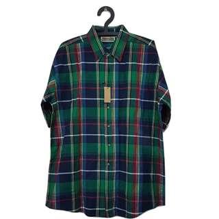 第二件 8 折🎉短袖格紋襯衫