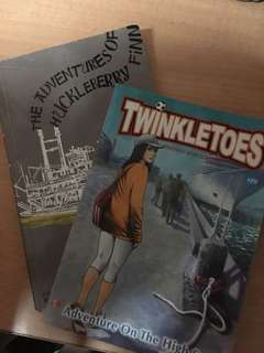 TwinkleToes and The Adventures Of Huckleberry Finn