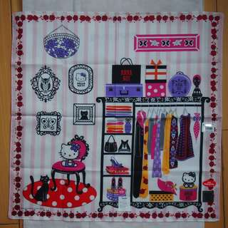 購自日本高島屋 日本限定 Anna Sui x Hello Kitty 手巾