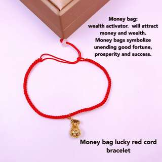 MONEY BAG LUCKY BRACELET