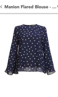 POPLOOK Manion Flared Blouse
