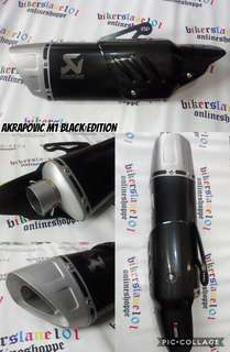 Akrapovic M1 Black edition