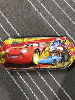 FOC Free Gift with Purchase Cars Pencil Case Tin