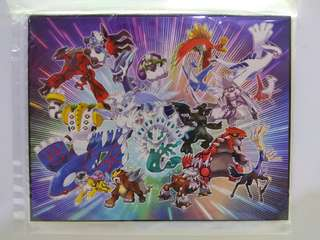 Pokemon Legendary Fridge Magnets