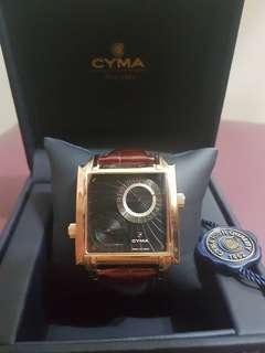 CYMA Dual Time Watch