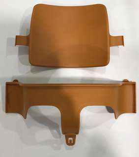 Stokke Tripp Trapp Baby Set in Brown with Free Seat Cushion