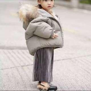 Pleated Maxi Skirt for Kids girls