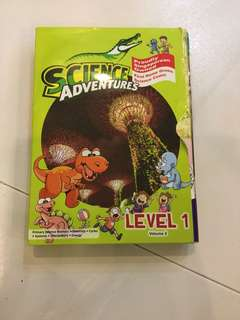 Science adventures vol3,8booklets