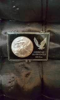 AMERICAN EAGLE SILVER DOLLAR. 1999.