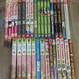 Manga 180 each