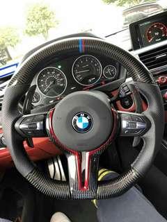 Carbon Steering Wheel   Made with:  💯 Genuine Carbonfiber 💯 Genuine Leather   💯 Alcantara 🇮🇹(OPTION)  #AVC #roadtomills #BMW #Audi #Volkswagen #Mercedes #Porcher #Ford #Peugeot #KIA #Honda #Toyota #Nissan #Suzuki #Mazda #Hyundai