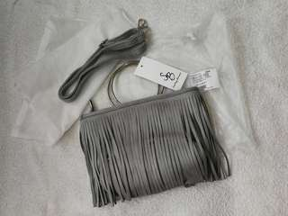 Something Borrowed 2 Way Fringes Bag