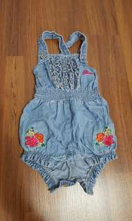 Guess baby denim romper