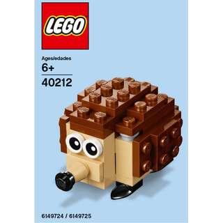 Lego Monthly Mini Build - Porcupine