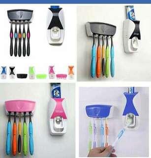 Toothbrush dispenser