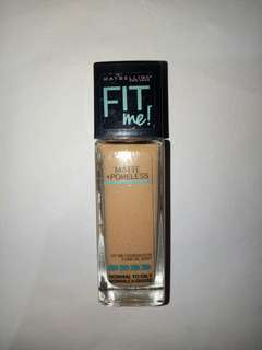 Maybelline Fit Me Foundation Mate Soft Tan