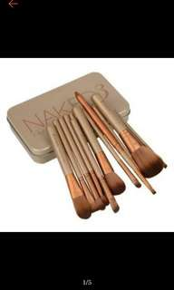 12pcs brush set in can