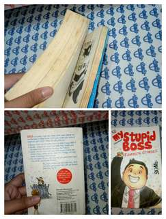Komik : Tiga Manula ke Singapura. Novel : My Stupid Boss favorite stories